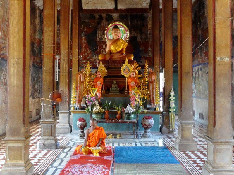 Wat Kampong Tralach, Pagoda Leu Vihara