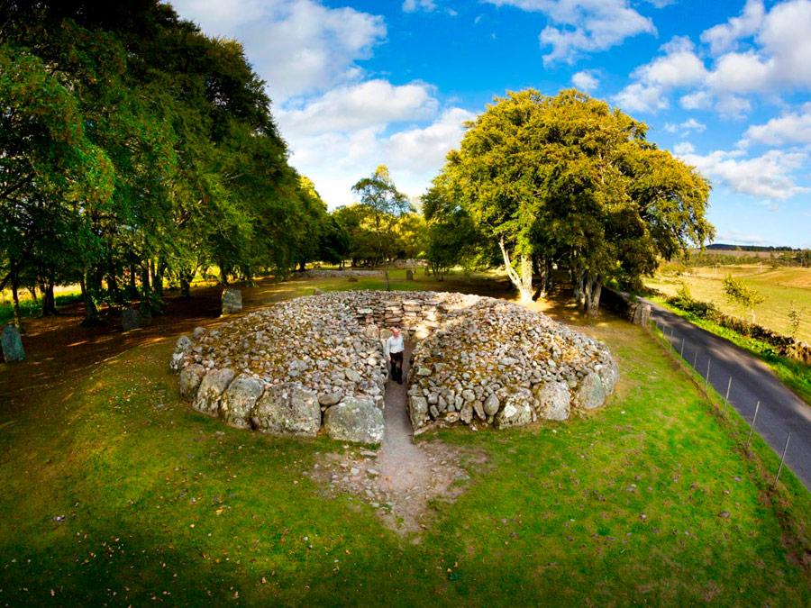 Clava Cairns, Culloden