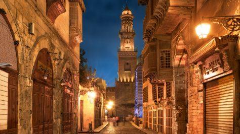 Ciudad antigua en Cairo - Calle Muiz
