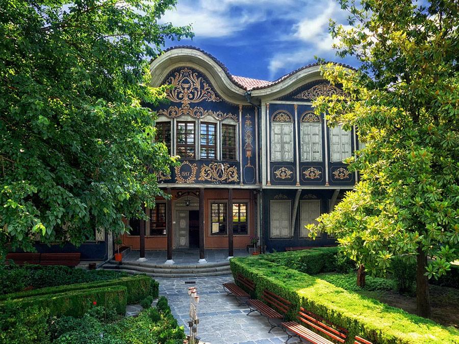 Casa Kuyumdzhiev, Museo Etnográfico, Plovdiv