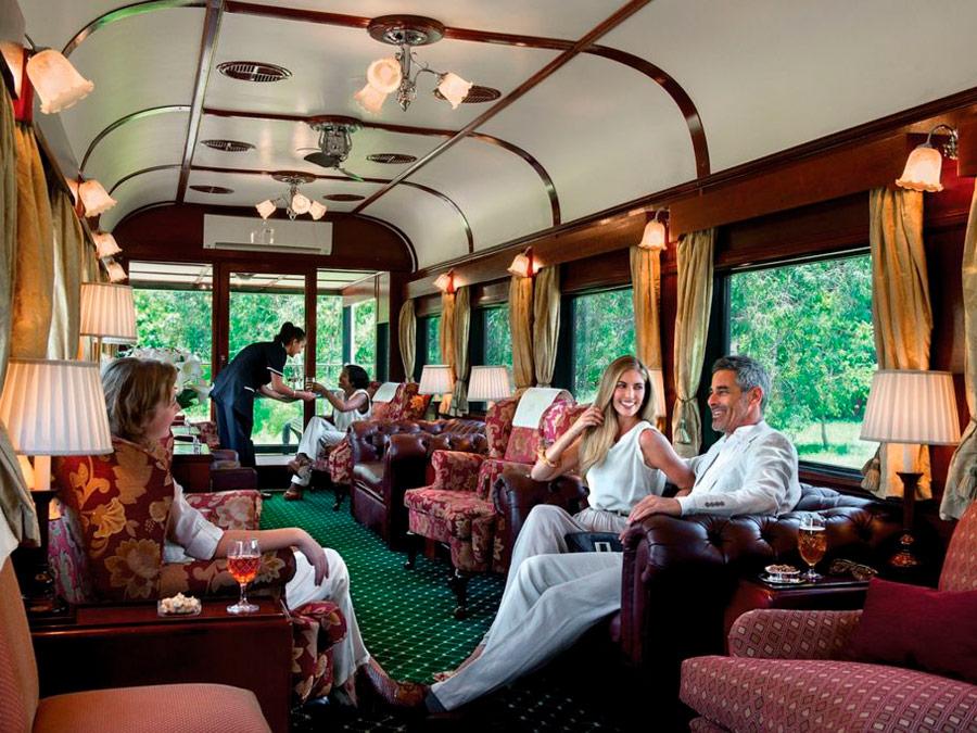 Interior tren Pride of Africa