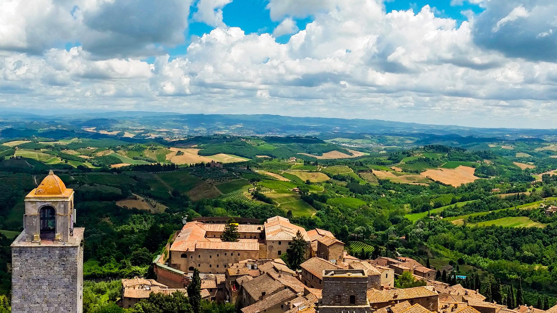San Gimignano, Italia