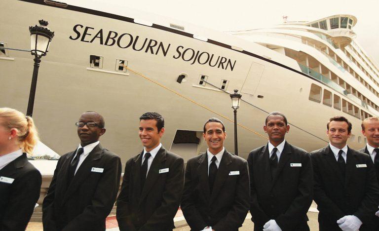 Tripulación. Seabourn Cruise Line