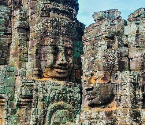 Parque de Angkor, Siem Reap, Camboya