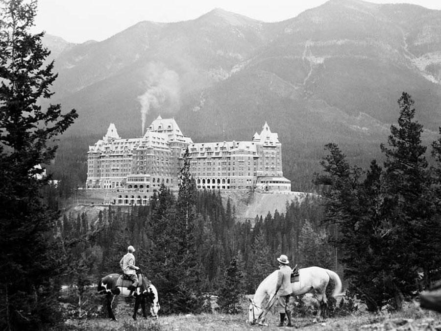 Banffen Spring Hotel 1929