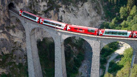 Glacier Express, Suiza