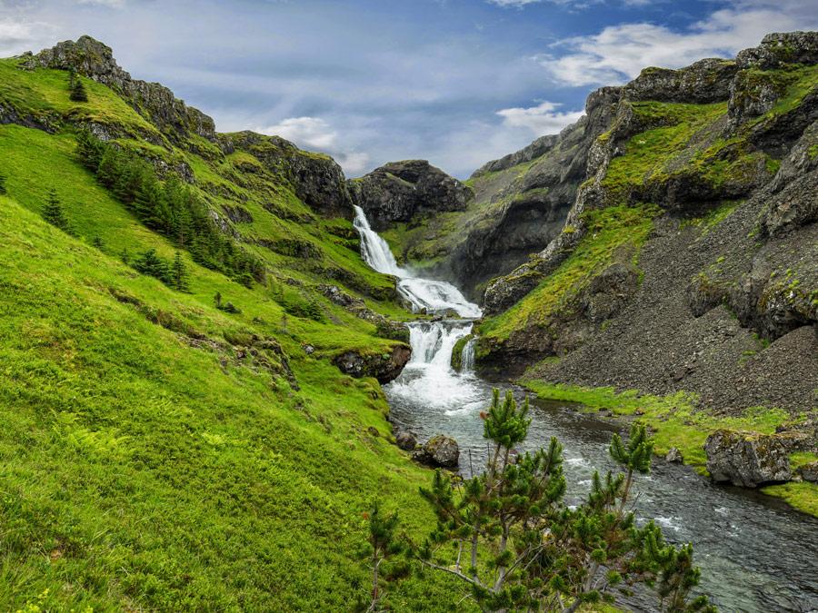 Cascadas Kvernafoss, Grundarfjörður
