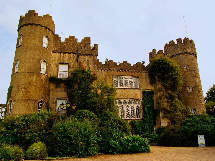 Castillo de Malahid. Irlanda.