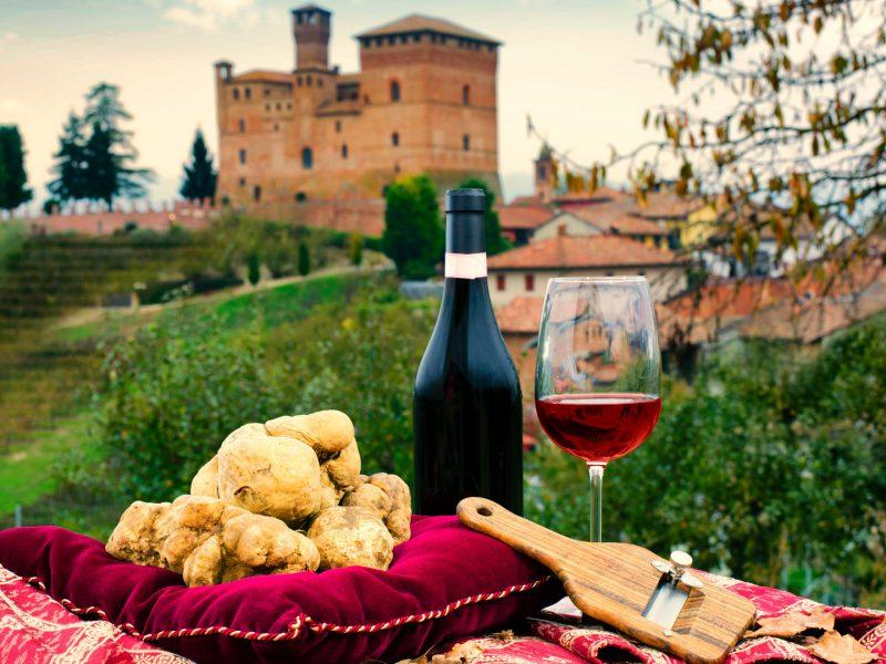 Trufas de las Toscana.