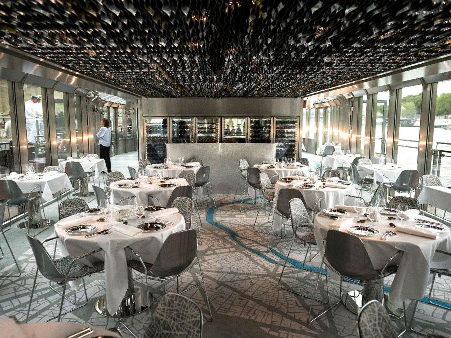 Interior restaurante Duccase sur Seine