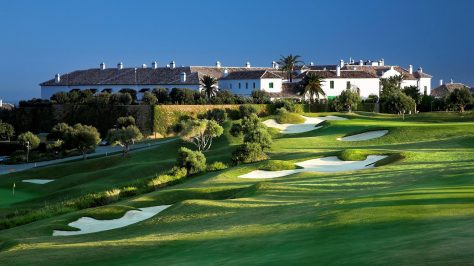 Finca Cortesin. Golf court