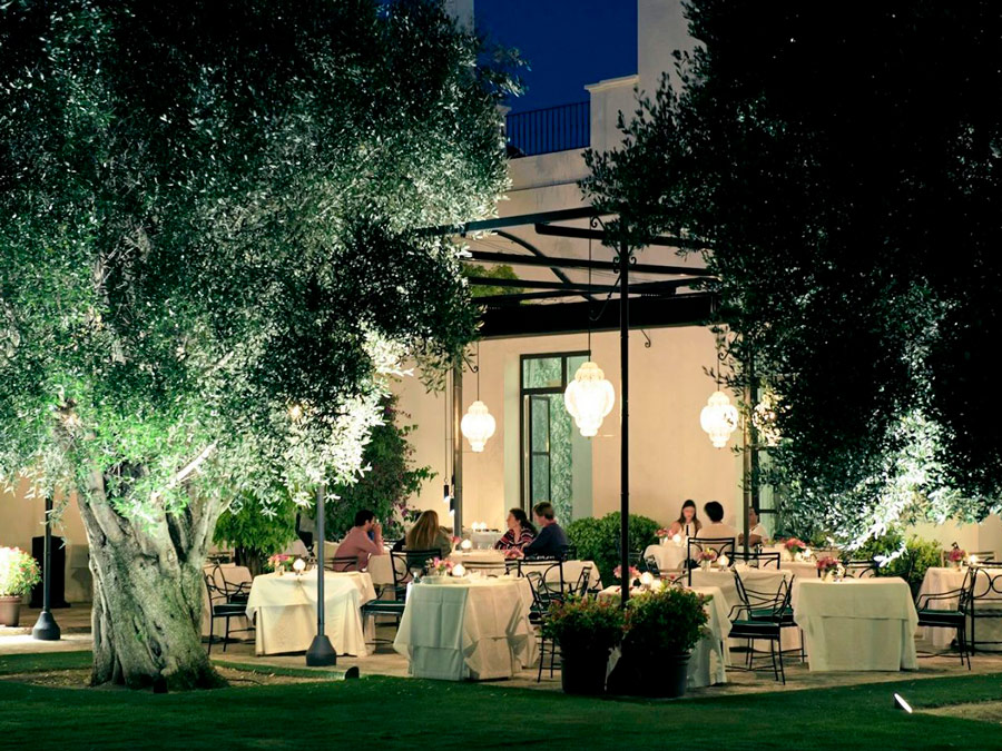 Finca Cortesin. Restaurant
