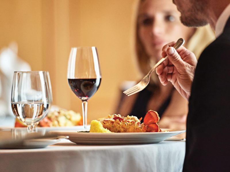 Club Class Dining. Princess Cruises