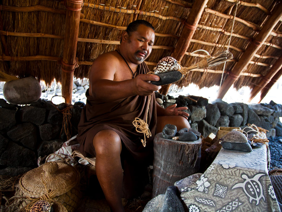 Muestra de la cultura Hawaiiana