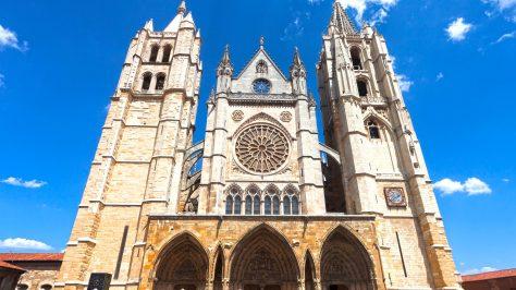 Catedral, León, España