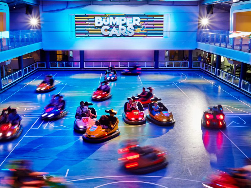 Bumper Cars, Royal Caribbean
