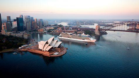 Sydney, Australia. Celebrity Solstice