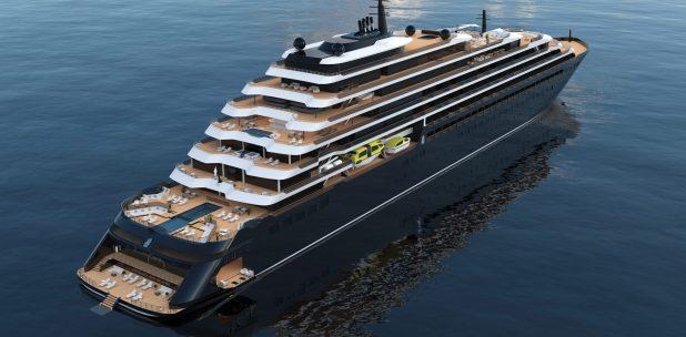 Exterior. The Ritz Carlton Yacht