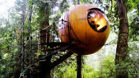 Free Spirit Spheres Lorge, Vancouver