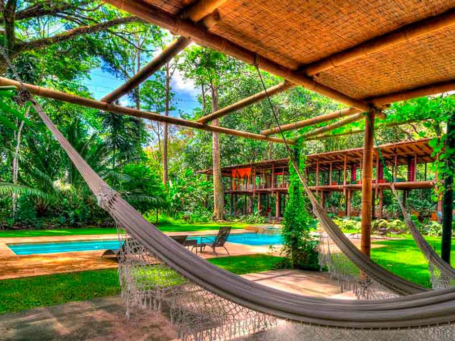 Piscina en Iguana Lodge, Costa Rica
