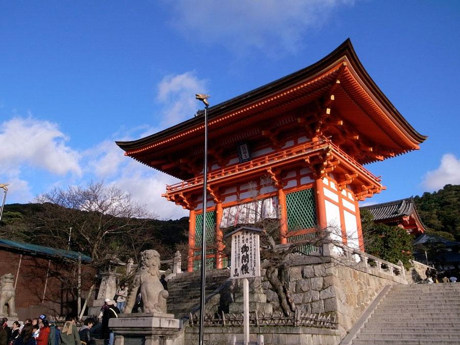 Templo Kiyomizudera_Niomon, Japon