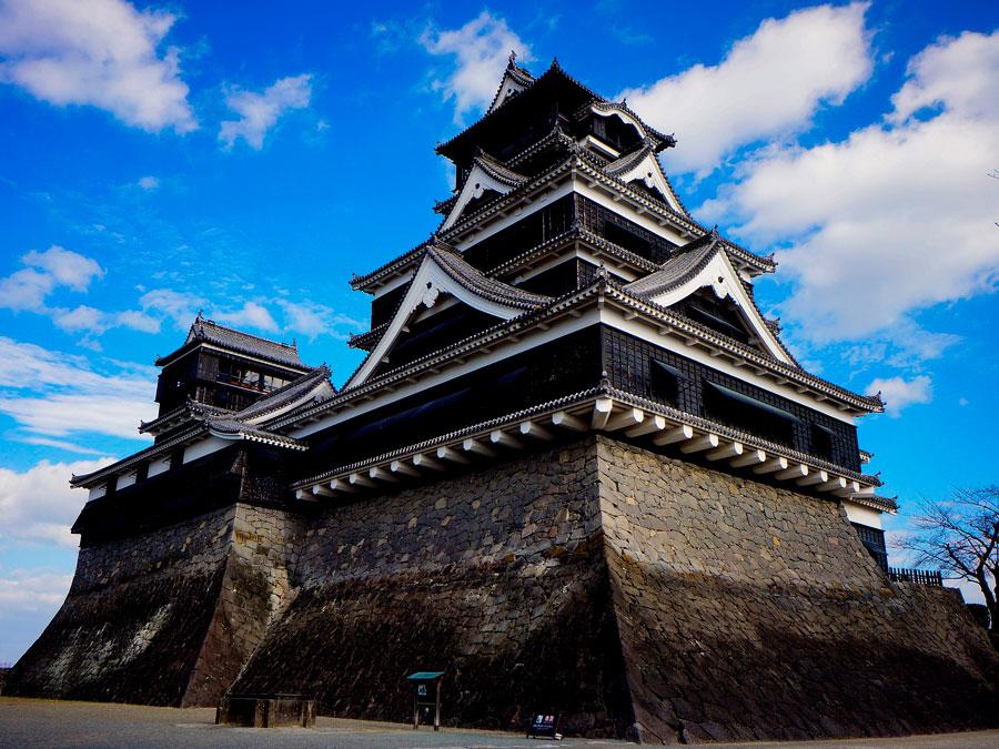 Castillo de Kumamoto, Japon