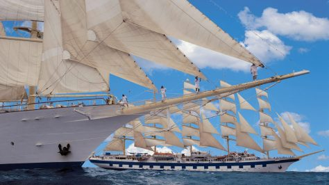 Star Clippers. Exterior