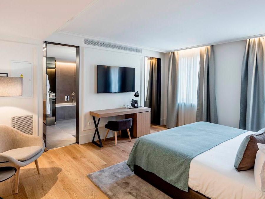 Habitación estandar. Boho Hotel. Praga, República Checa