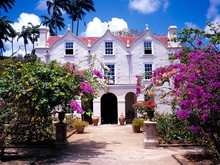 Plantación en Barbados