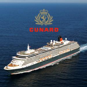 Banner ad Cunard