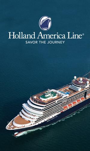 Banner ad Holland America LIne