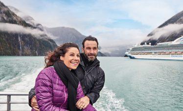 Vista de Tracy Arm Fjord. Jumea. Alaska. Cortesia Princess Cruises