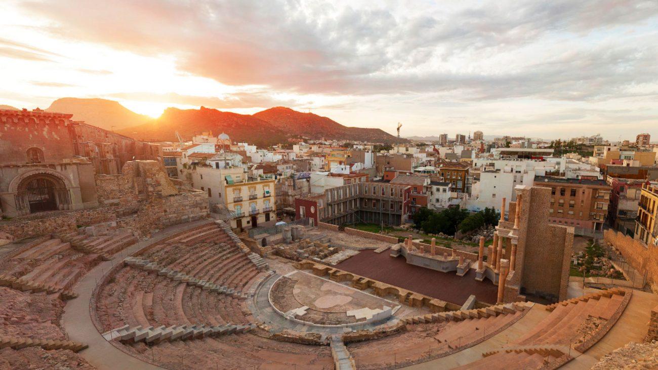 Teatro de Cartagena, España