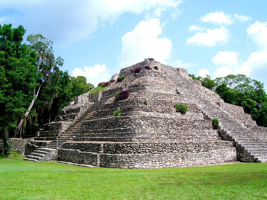 Ruinas de Chacchoben, Costa Maya, Mexico