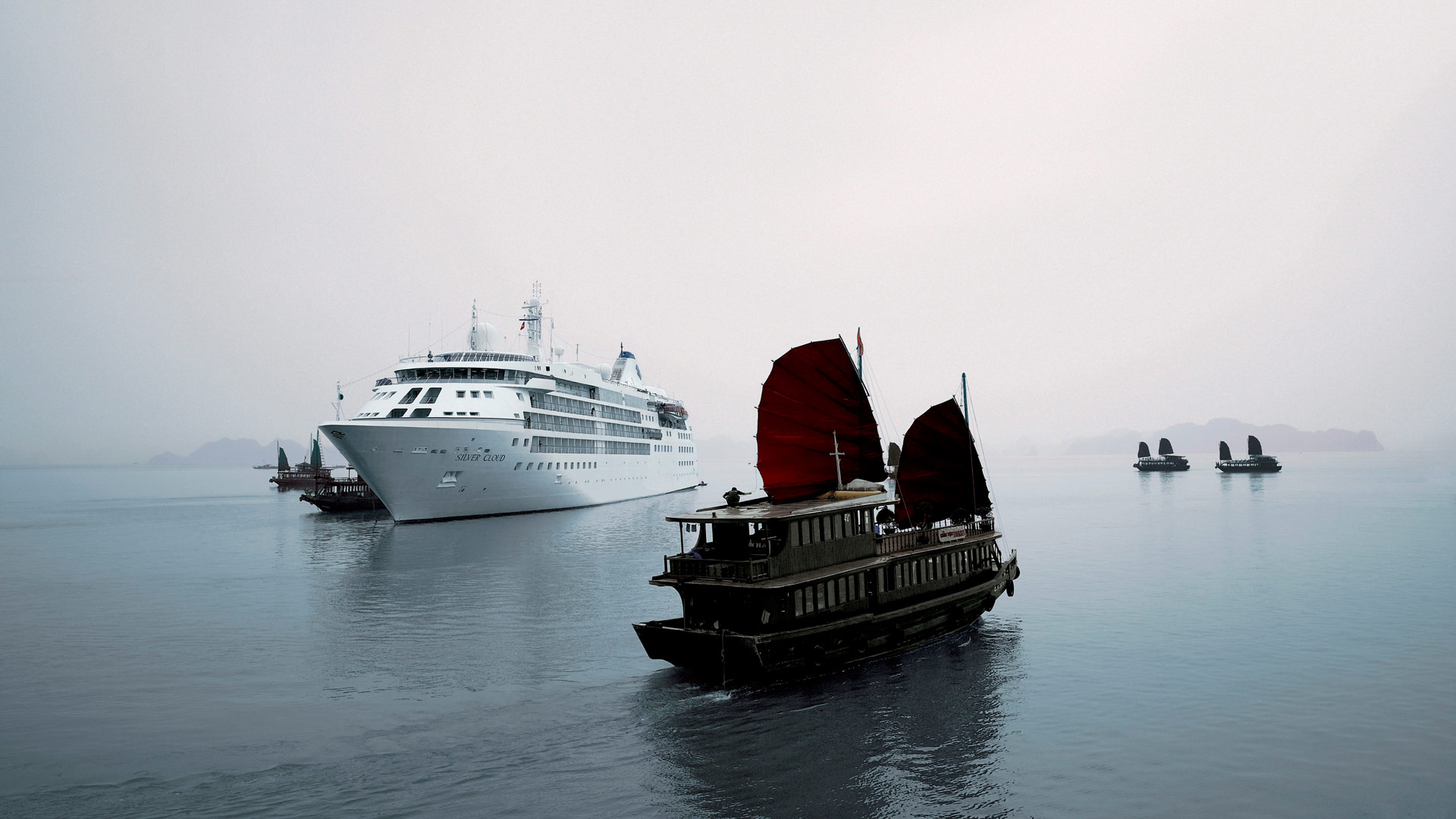 Cruceros en China.
