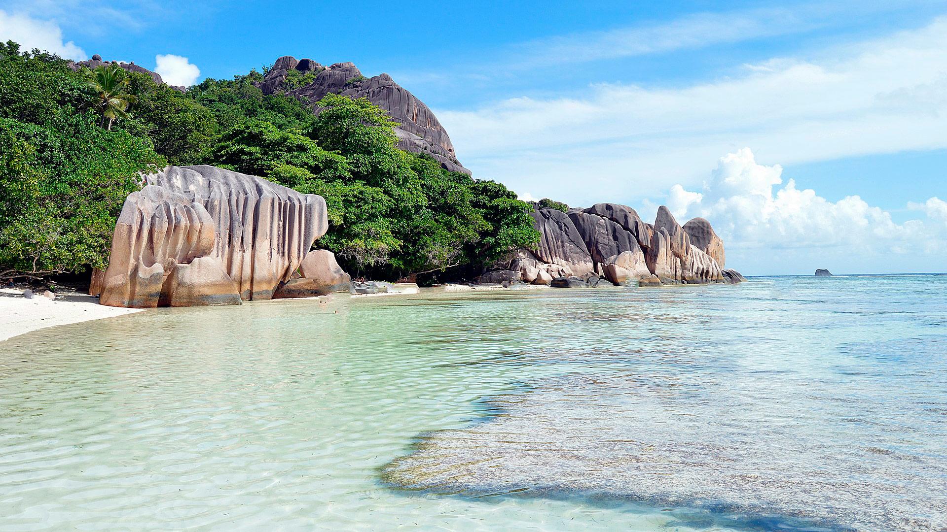 Playas de Mahe. Seychelles