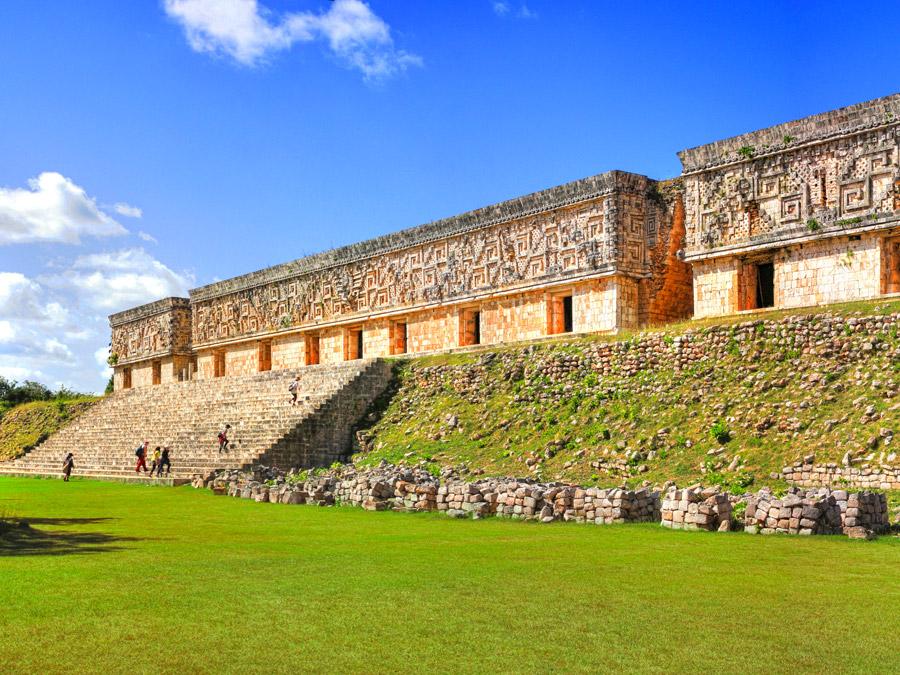 Palacio del Gobernador, ruinas de Uxmal, México