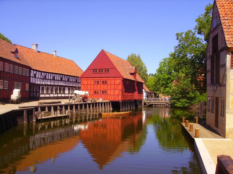 Den Gamle By, Aarhus, Dinamarca.