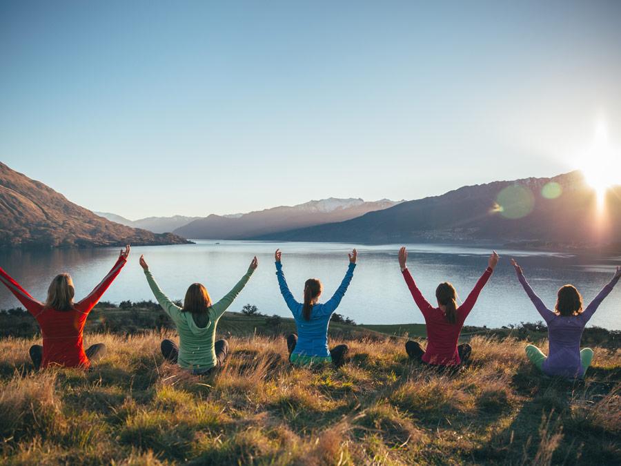 Clases de yoga en el Aro Ha, Queenstown New Zeland