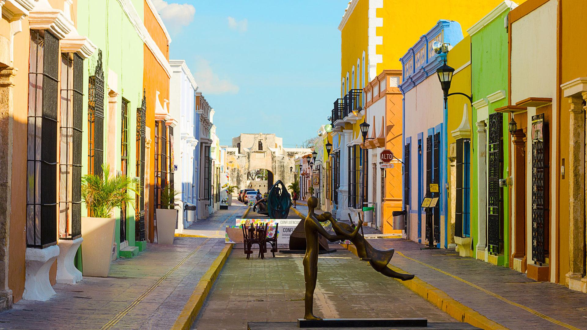 Campeche, una de las ciudades baratas y también Patrimonio de la Humanidad.