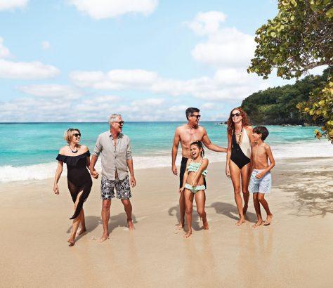 Vacaciones familiares en el Caribe