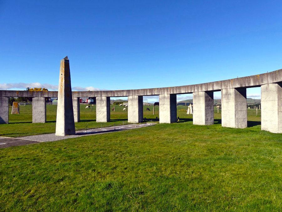 Stonehenge Aotearoa, Nueva Zelanda