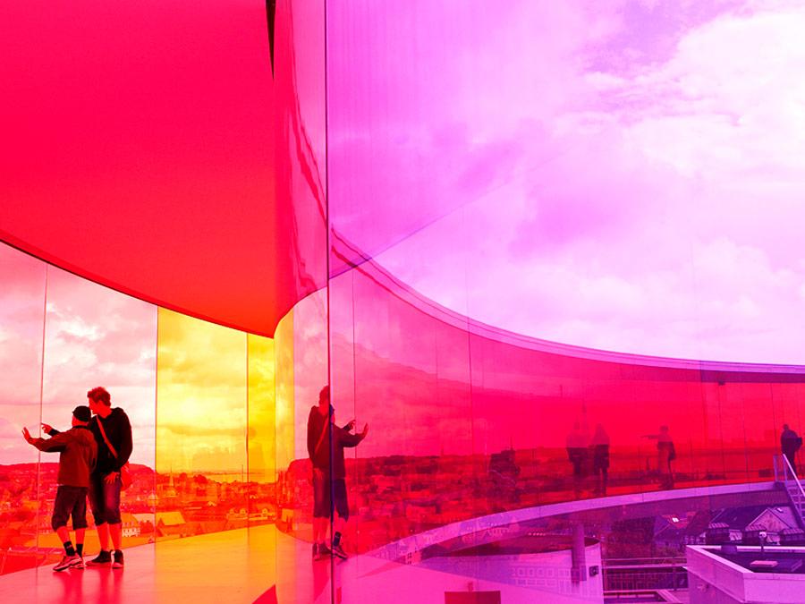 Pasarle de colores, Museo de arte ARos, Aarhus, Dinamarca