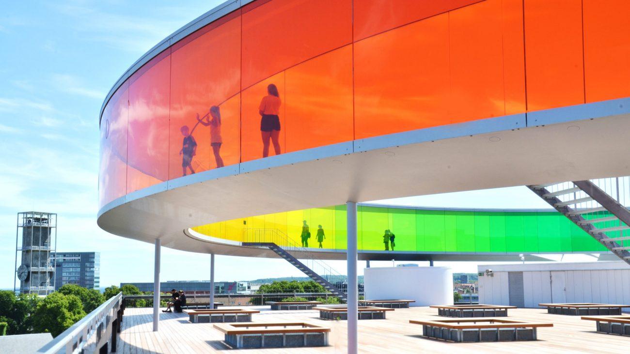 Pasarle de colores, Museo de arte ARos, Aarhus