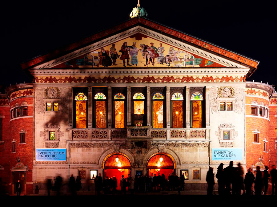 Teatro principal de Aarhus, Dinamarca.