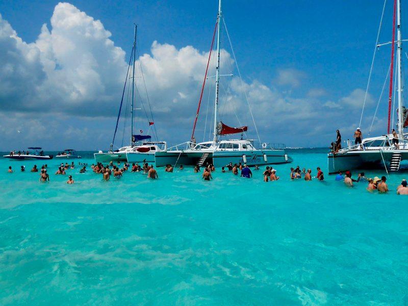 Grand Cayman. Centro de tortugas.