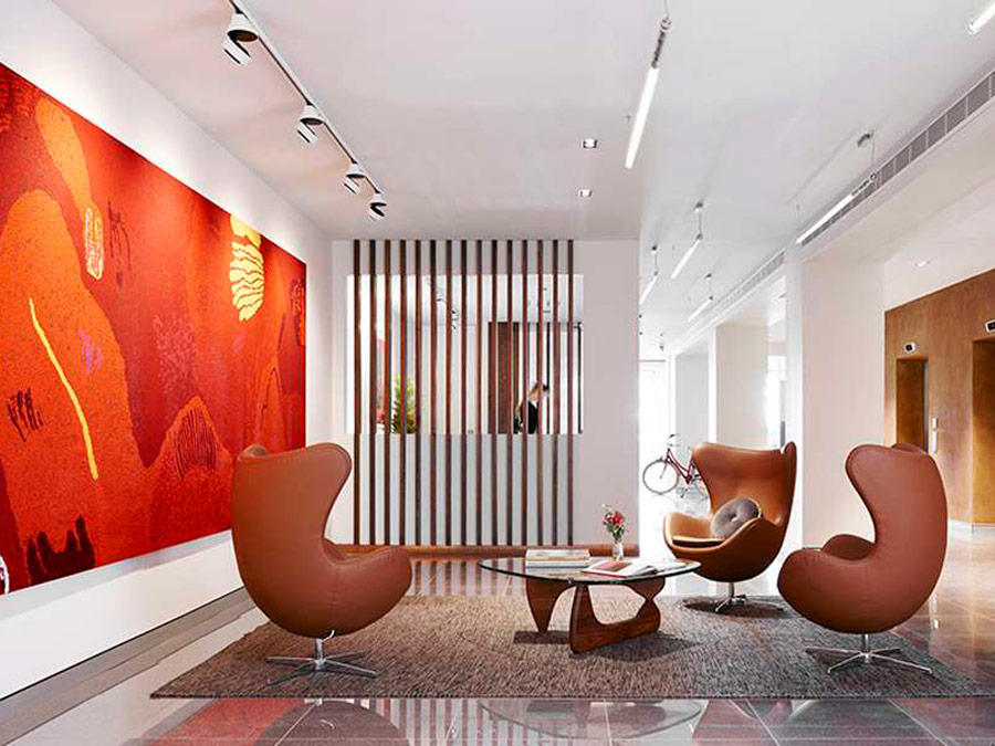 Lobby del Art Series The Watson, Adelaida, Australia