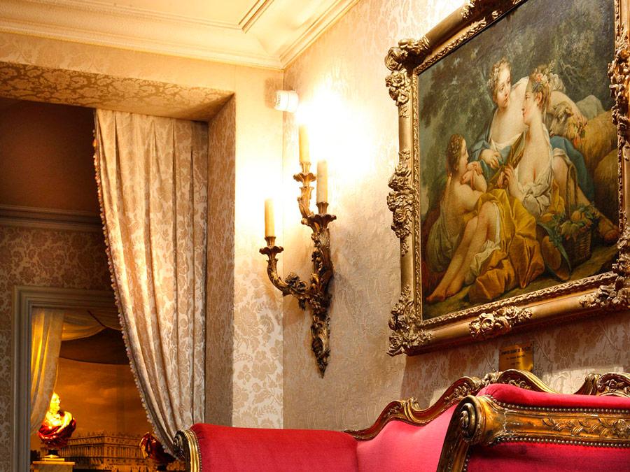 Interio del Hotel Le Negresco, Niza, Francia