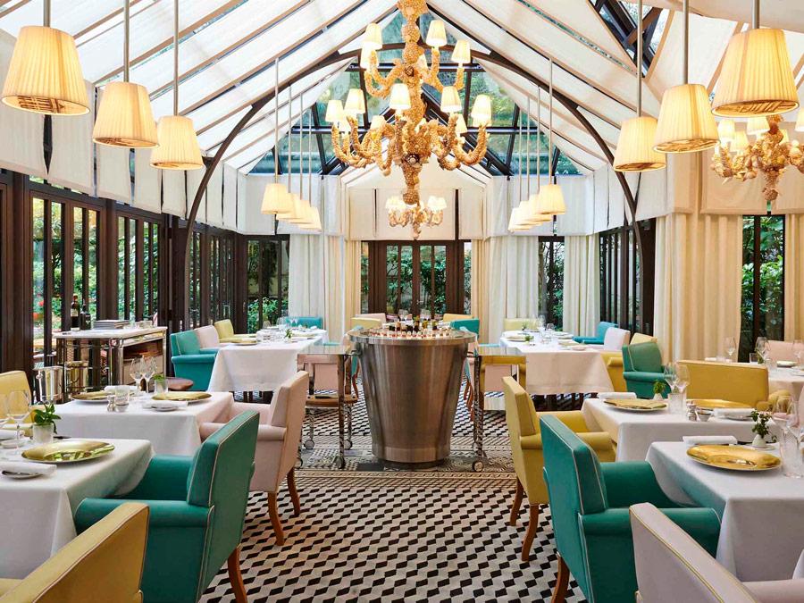 Restaurant en Le Royal Monceau, Paris, Francia.
