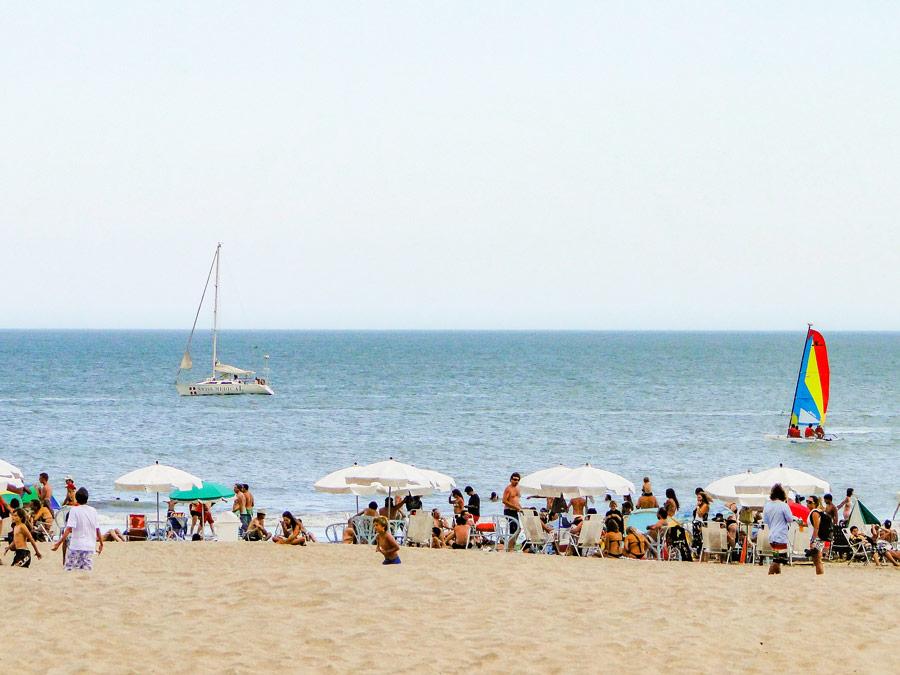 Playas del Faro al sur de Mar del Plata, Argentina